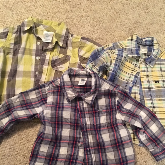 Shirts Tops 3 6 Month Old Baby Boy Dress Shirts Poshmark